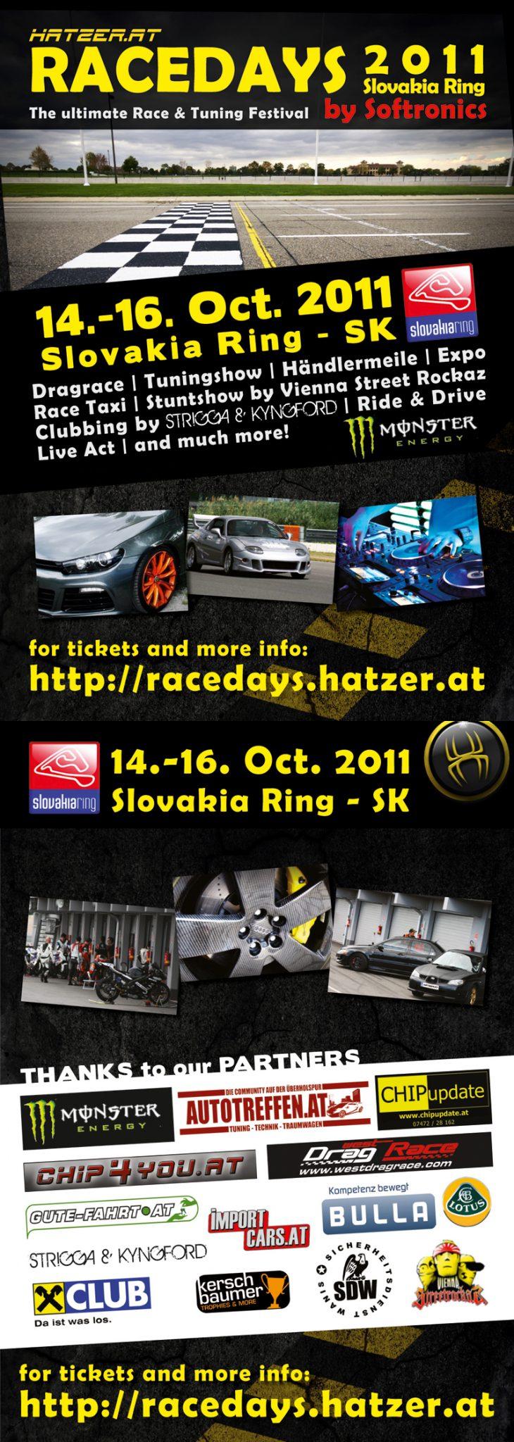 Racedays 2011
