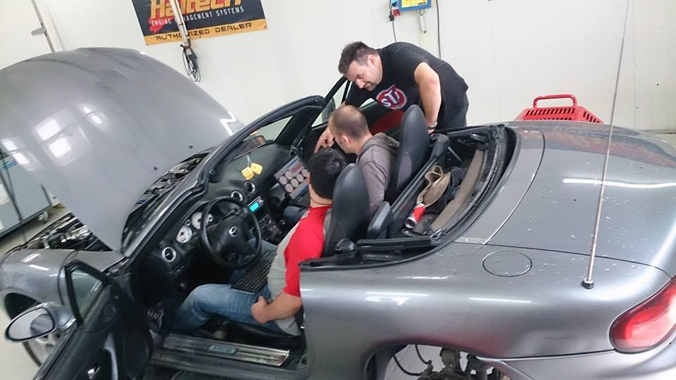 mazda mx-5 turbo dyno lowbudgetracing